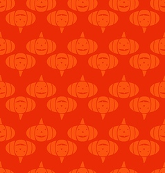 Halloween pattern22 vector image vector image