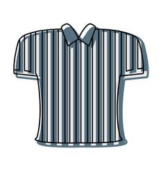 referee tshirt design vector image