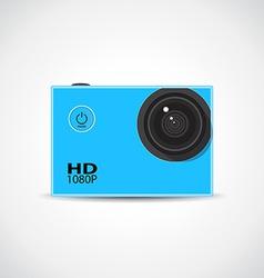 Sport camera vector