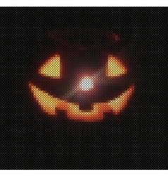 Textured pumpkins background vector image vector image