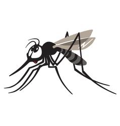 Cartoon gnat vector
