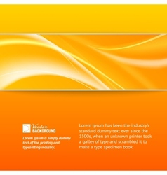 Abstract horizontal strip vector image vector image
