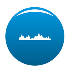 equalizer icon blue vector image
