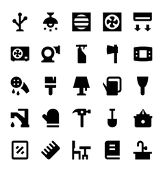 Home appliances icons 11 vector