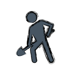 Pictogram man icon vector