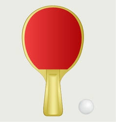 Ping pong vector image vector image