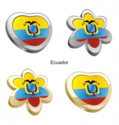 flag of Ecuador vector image
