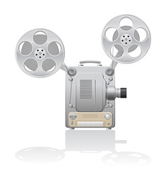 Cinema projector 01 vector