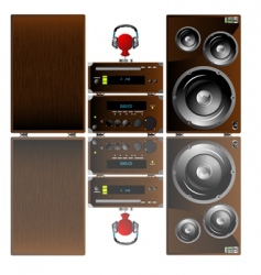 Audio equipment vector