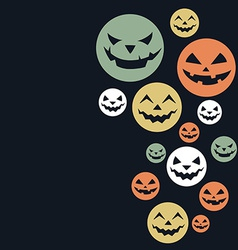 Creative halloween design vector