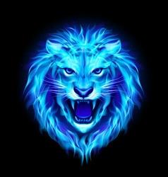 Fair Lion 02 vector image vector image