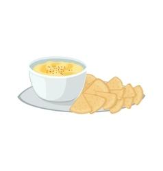 Jewish food vector image