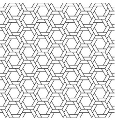 line geometric seamless background pattern vector image vector image