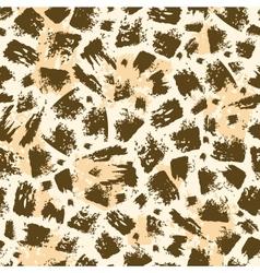 Animal brush stroke seamless pattern background vector