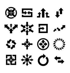 Arrow Icon vector image vector image
