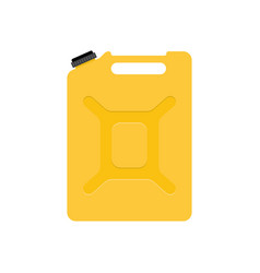 Jerrycan isolated on white vector