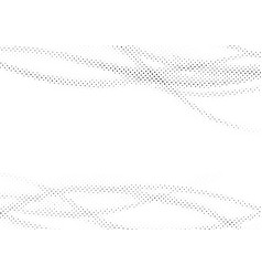 Nice textured in wavy pattern dotted background vector