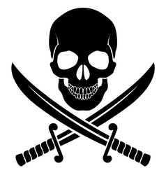 Pirate symbol vector