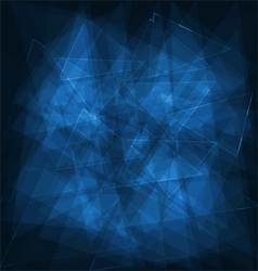 Blue abstract digital background vector