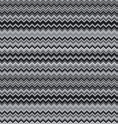 grey chevrons seamless pattern background retro vector image