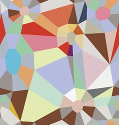 color diamonds seamless background vector image