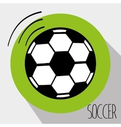 football soccer vector image vector image