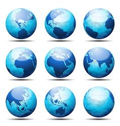 Globes vector