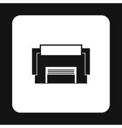 Industrial building icon simple style vector image vector image