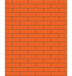 seamless brick texture vector image vector image