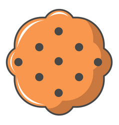 Swedish food icon cartoon style vector