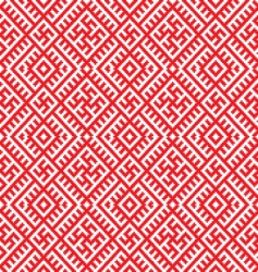 Ukrainian vector ornament vector image