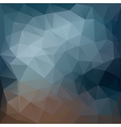 Magic triangle abstract background with highlights vector