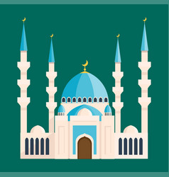 Cathedral buddhist churche temple building vector