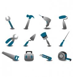 repairing tools vector image