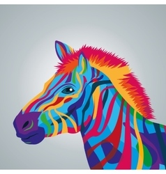 Zebra icon animal and art design graphic vector