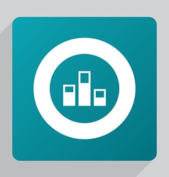 Flat levels icon vector