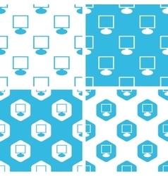 Monitor patterns set vector