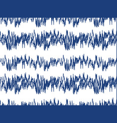 sound waves seamless pattern audio technology vector image