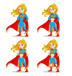 Wonder girl vector