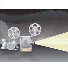 Cinema projector 02 vector