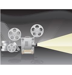 cinema projector 02 vector image