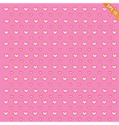 A seamless background of hearts on background - vector image
