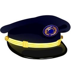Pilots service cap vector