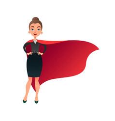 woman superhero cartoon character wonder woman vector image