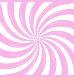 Pink sunburst vector