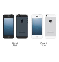 Apple iphone 5 vector