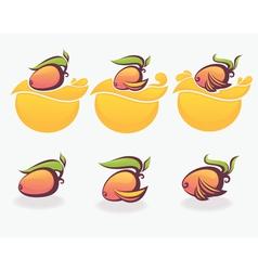 mango vector image