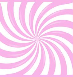 Pink sunburst vector