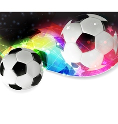 Soccer abstract background vector