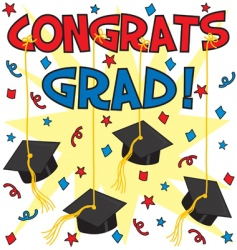 congrats grad vector image